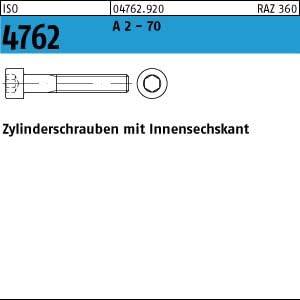 1 Edelstahl V2A Inbus Zylinderkopfschrauben ISO 4762 A2 M14x120