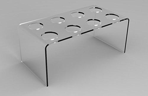 FixtureDisplays Clear Plaxiglass Acrylic Ice Cream Cone Display for Waffle Cones-8 100823 ()