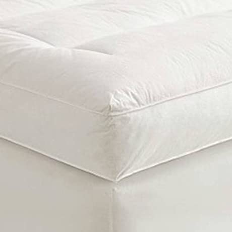 4 Queen Goose Down Mattress Topper Featherbed Feather Bed Baffled