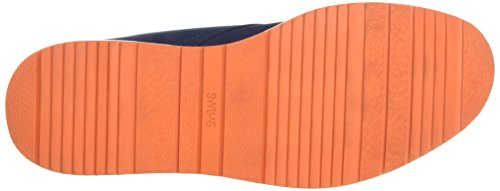 SwimsBarry Chukka Classic - Stivali Bassi con Imbottitura Leggera Uomo, Blu (Blau (Navy Orange 128)), 45