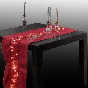 Ruban de table Nappe Chemin de table lumineux LED Guirlande ...