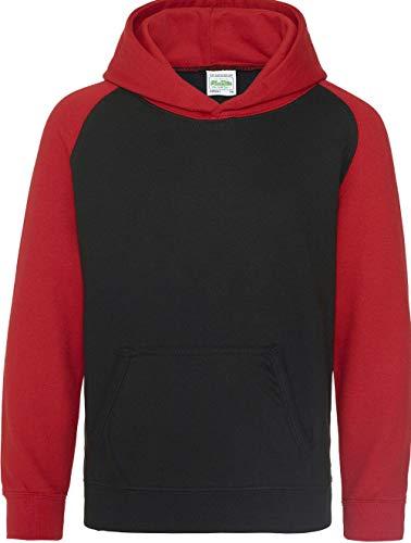 Fire Boy Sudadera Black Jet Absab Ltd con Red capucha nxRwqvRB0