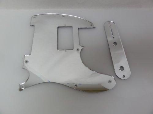 Fender Tele Telecaster Humbucking Chrome Mirror Pickguard Set