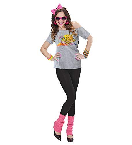 Widmann 98833 Adult 80s Beach Girl, Women, Multicoloured