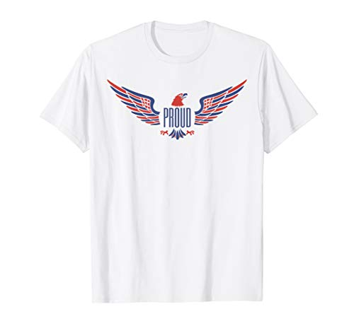 American Eagle White Shorts - American Proud Symbol TShirt Proud Eagle Shirt