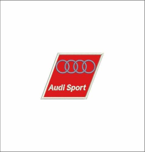 MAREL Patch AUDI SPORT LOGO motor racing corse auto cm 8 x 6 toppa ricamo v14c -977