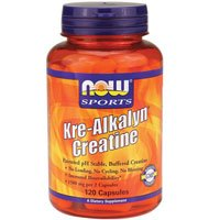 Now Foods Kre-Alkalyn Creatine - 120 Capsules 6 Pack