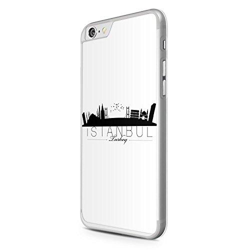 iPhone 6 Plus & 6S Plus Hülle - Istanbul Silhouette - Hardcase Cover Case Schale Türkiye Türkei