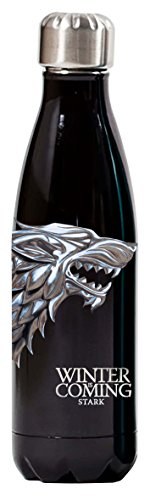 Game Of Thrones 500ml (17oz) Sport Stainless Steel Insulated Vacuum Water Bottle - Stark