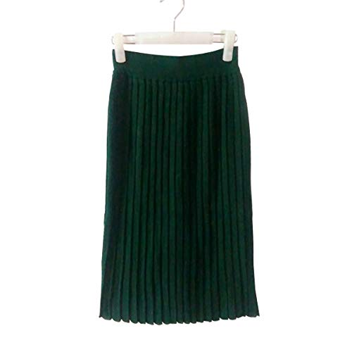 Solide E Lache Pull M7608829 Vert Girl Couleur Jupe Femme frWrFIqnw