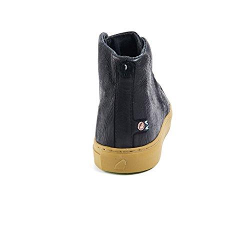 Satorisan - Zapatillas para hombre negro negro negro