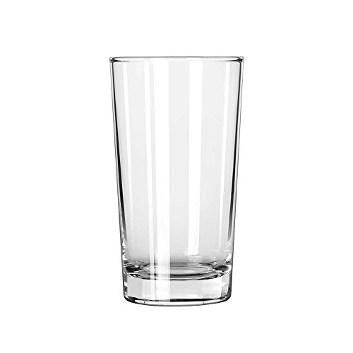 Libbey Glassware 132 Heavy Base Hi-Ball Glass, 8 oz. (Pack of 48) by Libbey