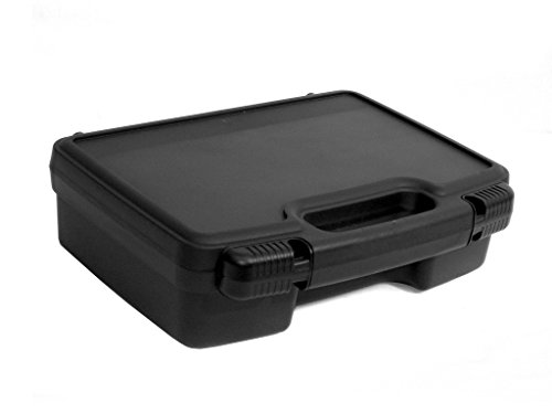 Cases By Source SL-1173E Lightweight Plastic Carry Tool Case, 11 x 7.25 x 3.25, Black