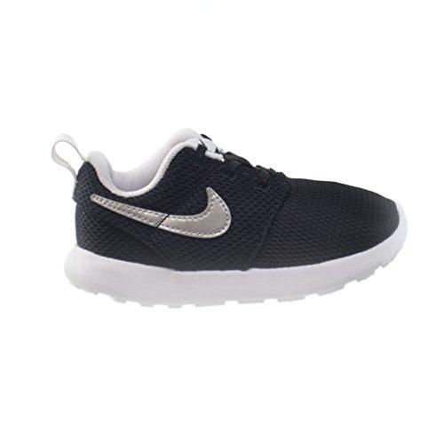 Enfant Black white One Enfance Silver 1 Petite tdv Chaussures Mixte 10 Mois Roshe mettalic Nike Pn6qvgw