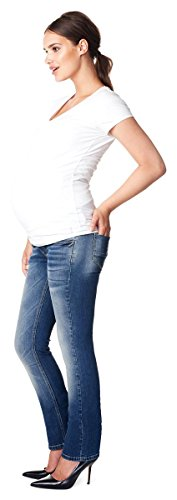 Wash c295 Stone Donna Jeans Straight Noppies xwgqIXn