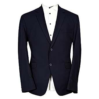 Libas Riyaz Gangji Blue Viscose Blazer For Men