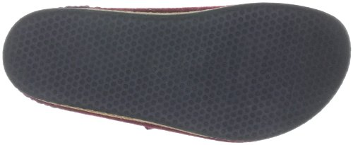 Red 8806 Adults Slippers Aubergine Unisex 17801 Unlined Stegmann 7ZXnOX