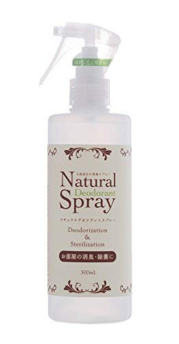 Natural Deodorant Spray 300ml  (19本入) B07H92TDTQ
