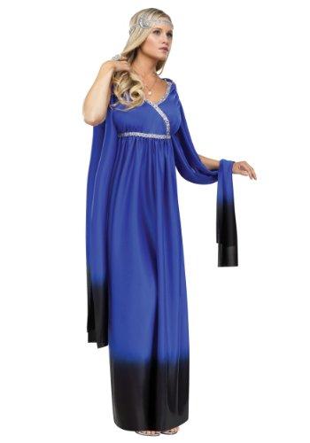 Moon Goddess Adult Costume (Greek Goddess Of The Moon Costume)