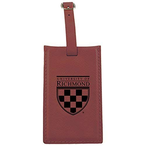 大学リッチモンドの – Leatherette Luggage tag-burgundy   B013VZ3DOU