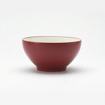 Noritake 6-Inch Colorwave Rice Bowl, Raspberry