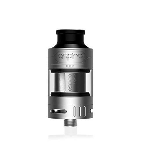 Aspire Cleito 120 Pro Tank 2 ml Sub-Ohm-Clearomizer-Zerstäuber (Edelstahl) Kein Nikotin oder Tabak