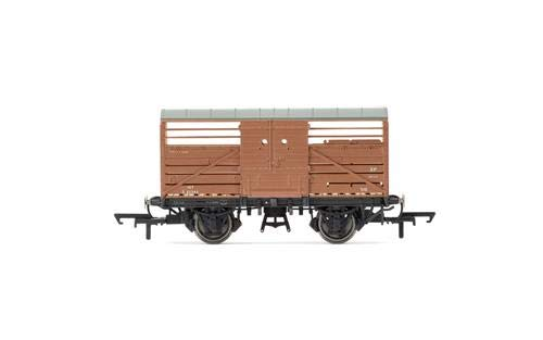 Hornby R6840A BR Dia. 1530 Cattle Wagon S52347-Era 4 Freight Car, Multi ()
