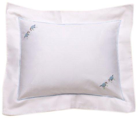 Jacaranda Living Baby Boudoir Pillow, Blue Sheep by Jacaranda Living   B00BWLVMRQ