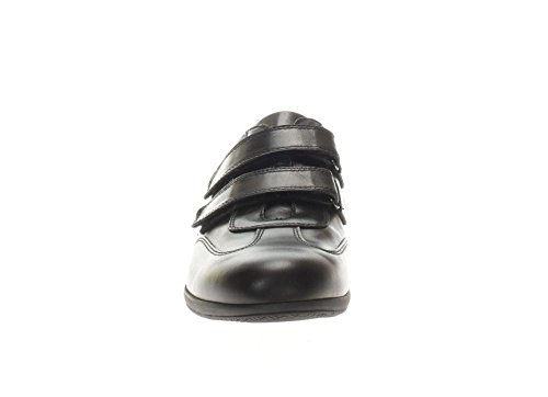 Nero Giardini Uomo Sneaker P800141U 100 Sneaker in Pelle con Strappo nero