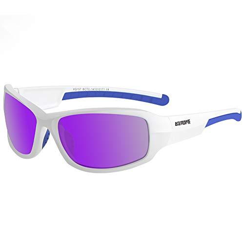 Polarized Sports Sunglasses Men Women Cycling Driving Glasses, UV400 Protection ()