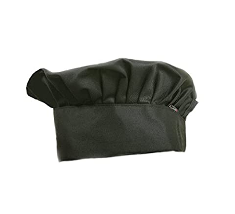Dadoudou Chef Hats with Adjustable Size for Adult/Kids (Black) - Childrens Chef Hat