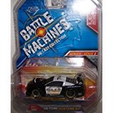 Jada Toys 1/64 Scale Battle Machines Diecast Collection Series 1 2006 Ford Mustang Gt in Color Black and White No#006 - Scale Diecast Battle Machines