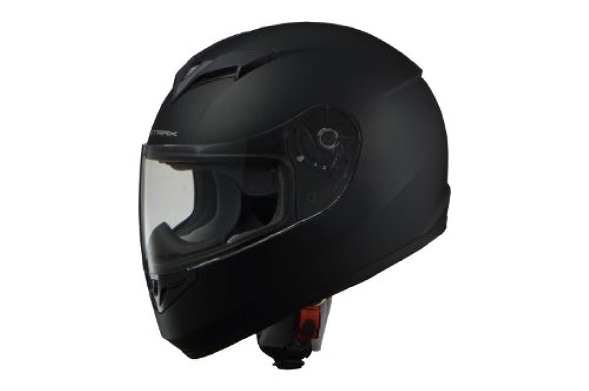 [해외] 리드 공업(LEAD) 오토바이 헬멧 풀 페이스 STRAX 매트 블랙 M사이즈(57-58CM미만) SF-12