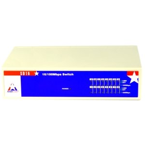 Unmanaged 10/100MBPS Fast Ethernet Switch That Offers Solutions To Increase Ethe