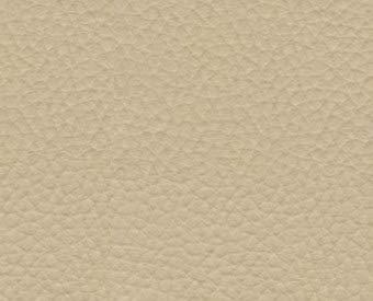 1 Metro de Polipiel para tapizar, Manualidades, Cojines o forrar Objetos. Venta de Polipiel por Metros. Diseño Vulco Ignífugo Color Beige Ancho 140cm