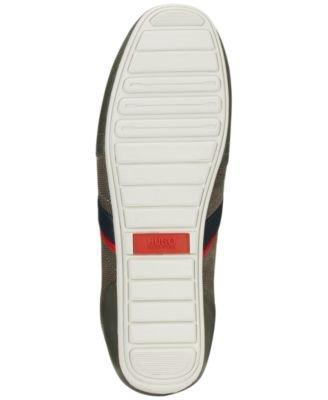 Sneakers Uomo Hugo Boss Mens Thatoz Fashion Grigio Scuro (m9) (50227208)