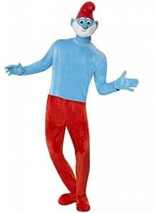 Deluxe Papa Smurf Costume (disfraz)