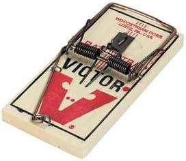 1 Trap M201 Wood Rat Trap Victor Metal Pedal Rat Trap