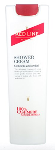 Orchid Cashmere - Red Line Shower Gel-Cream, Cashmere and Orchid 250 ml/ 8.4 oz