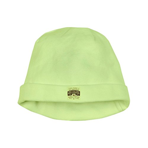 Price comparison product image Royal Lion Baby Hat You Can't Buy Happiness Buy Coffee - Kiwi