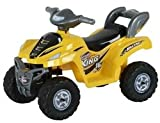 Best Ride On Cars Little ATV 2-5 Years 6V, Yellow