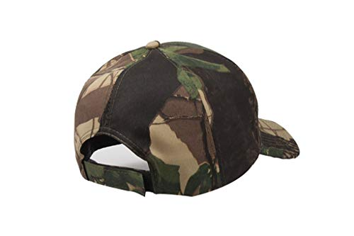 Tanlo 2019 Unisex Women Men Summer Outdoors Camouflage Visor Baseball Cap Adjustable Hat Dad Hats (A, Size:Adjustable) by Tanlo (Image #4)