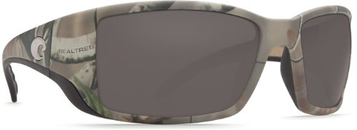 Costa Del Mar Blackfin Sunglasses, Realtree Xtra Camo, Gray 580 Plastic Lens by Costa Del Mar