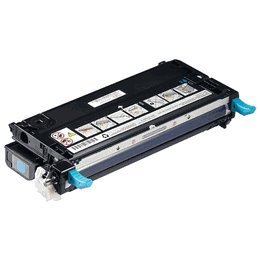 (Dell Compatible 3110/3115 Cyan Toner Cartridge (8000 Page Yield) (PF029))