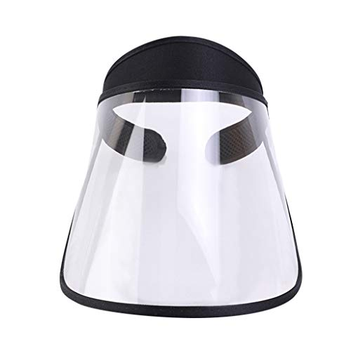 Safety Face Shield Mask for Women Face Shield for Full-face Protection, Anti-fog, Adults Safety Masks for Dust Respiratory Protection Uv Sun Hat Empty Top Hat Mask
