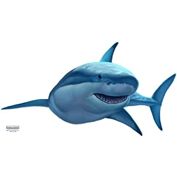 Amazoncom Create A Mural Great White Shark Wall Decal Home