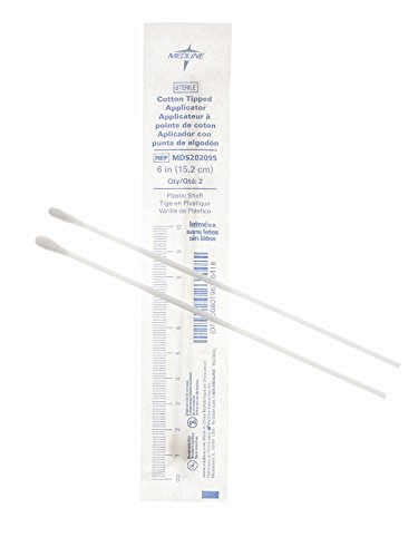 (Applicator, Cotton-Tip, Plastic, 6, Sterile)