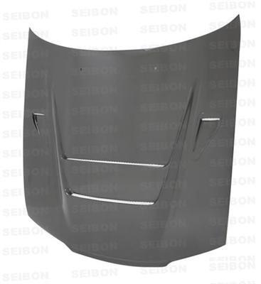 SEIBON 90-94 Nissan Skyline Carbon Fiber Hood DVII ()