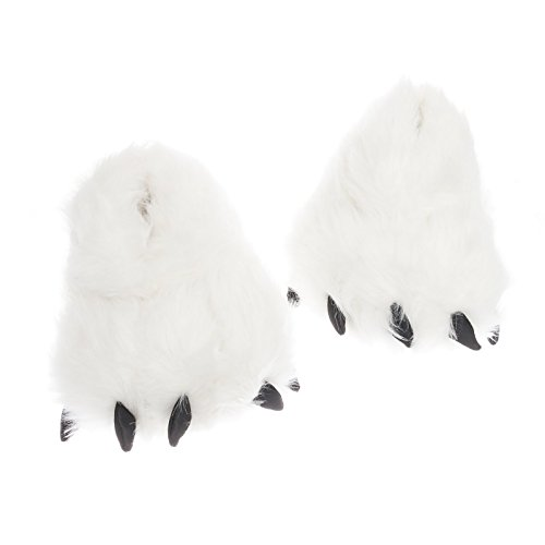 Plush Bear Paw Animal Slippers product image
