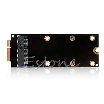 7+17 Pin mSATA SSD To SATA  Adapter Card for 2012 MacBook Pro MC976 A1425 A1398